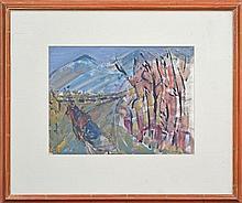 Elaine Alys Haxton (1909 - 1999) - Horse and Trap 31 x 41cm