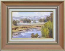 Werner Filipich (1943 - ) - Creek At Stroud, 1981 20 x 30cm