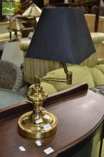 Brass Cantilever Lamp