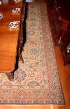 Hand Woven European Carpet, c.1910,