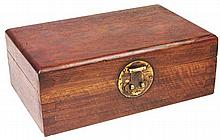 Chinese Huanghuali Jewellery Box