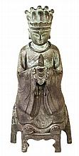 Chinese Bronze Ming Style Figure