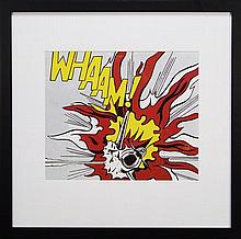 Roy Lichtenstein (1923 - 1997) - Whaam! (panel 2) 48 x 56cm