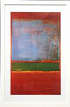 Mark Rothko (1903 - 1970) - Violet, Green and Red 79 x 49cm