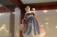 Royal Doulton Figure of the Year 'Amy' by Peter A Gee