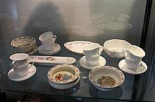 Wedgwood Cup/ Saucers, Royal Doulton Bunnykins, and other China
