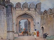 Ernest Unwin (1881 - 1944) - Untitled (Middle East) watercolour