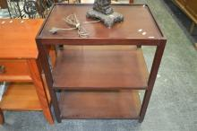 Three Tier Timber Side Table