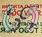 BT Nóbrega (Brazil) 2008 - Sprays Poeticos I enamel on canvas