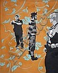 Larry Cyr (USA) 2008 - Arrest enamel on canvas