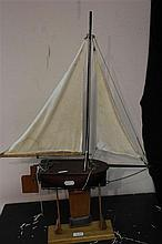 Small Pond Yacht Model