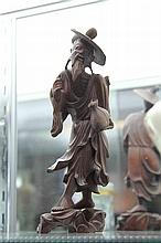 Chinese Timber Figure