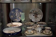 Wedgwood Jasper Ware Australian Bicentennial Plate with Other Ceramics incl Japanese