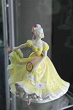 Royal Doulton Figure 'Ninette' Signed to Base