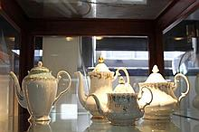 Royal Albert Memory Lane Teapot with Other Teapots incl Royal Tuscan
