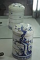 Chinese Blue & White Storage Container