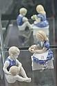 Bing & Grøndahl Figure of a Boy & Another of a Girl