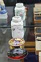 Royal Doulton Flambe Pin Dish & Aynsley Dressing Table Wares