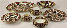 Royal Crown Derby Imari Pattern Dinner Service