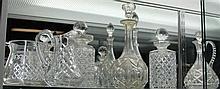 Crystal Decanters & Jugs (Some AF)