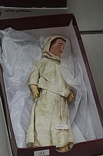 Small Victorian Porcelain Headed Doll