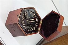 Lachenal & Co Concertina in a Fitted Timber Case