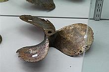 Brass Ships Propeller