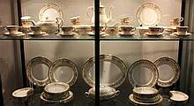 Aynsley 'Henley' Pattern Dinner, Tea and Coffee Service
