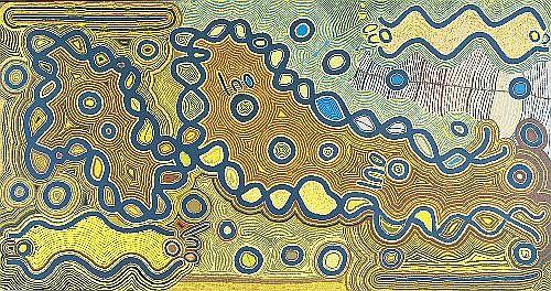 JUDY WATSON NAPANGARDI (CIRCA 1935 - ) - Women's Dreaming, 1995