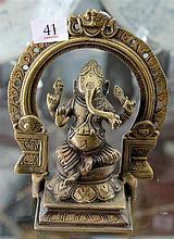 Brass Figure of Ganesh