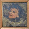 Julian Rossi Ashton (1851 - 1942) - Faun 38 x 37cm