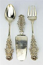Peruvian Sterling Silver Set of Servers