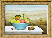 Frances Jones (1923 - 1999) - Untitled (Still Life with Fruit) 37 x 49.5cm