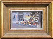 Allan Hansen (1911 - 2000) - Martin Place 12.5 x 22cm