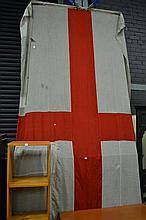 Large Vintage St. George Cross Flag