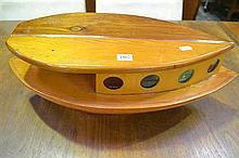 Timber Boat Lamp