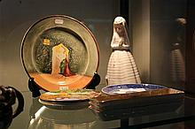 Royal Doulton 'Moorish Gateway' Plate with Other Ceramics incl Nao Bride
