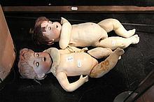 German Bisque Head Dolls (AF)