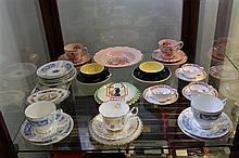 Coalport 'Revelry' Part Tea Set & Other Ceramics including Royal Albert 'Golden Glory' Trio
