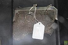 Continental Silver 800 Standard Mesh Ladies Purse