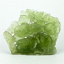Jade Carved Persimmon