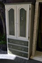 Three Drawer Two Door Cabinet