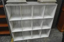 Rustic Painted Bookcase