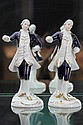Two Royal DUX Figures of Gents