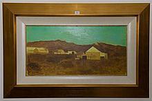 Ray Austin Crooke (1922 - ) - Far North Queensland 30.5 x 60cm