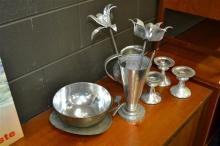 Collection of Pewter ware