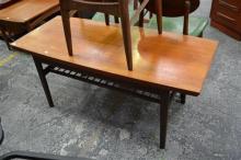 1960's Danish metamorphic Teak coffee dining table