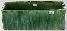 John Campbell Green Glaze Trough, Length - 36cm