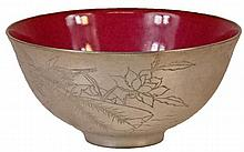 Chinese Floral Bowl