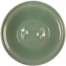 Chinese Celadon Charger